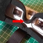 Aomway Commander - FPV goggle face pad fix